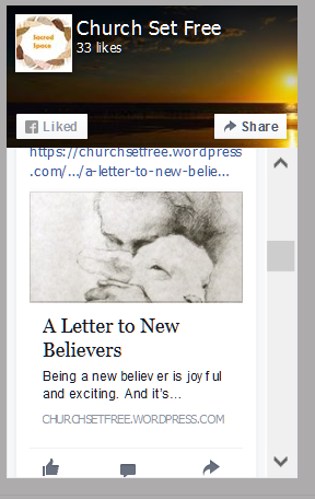 New Believer Post