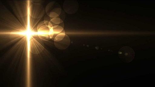 glowing-cross